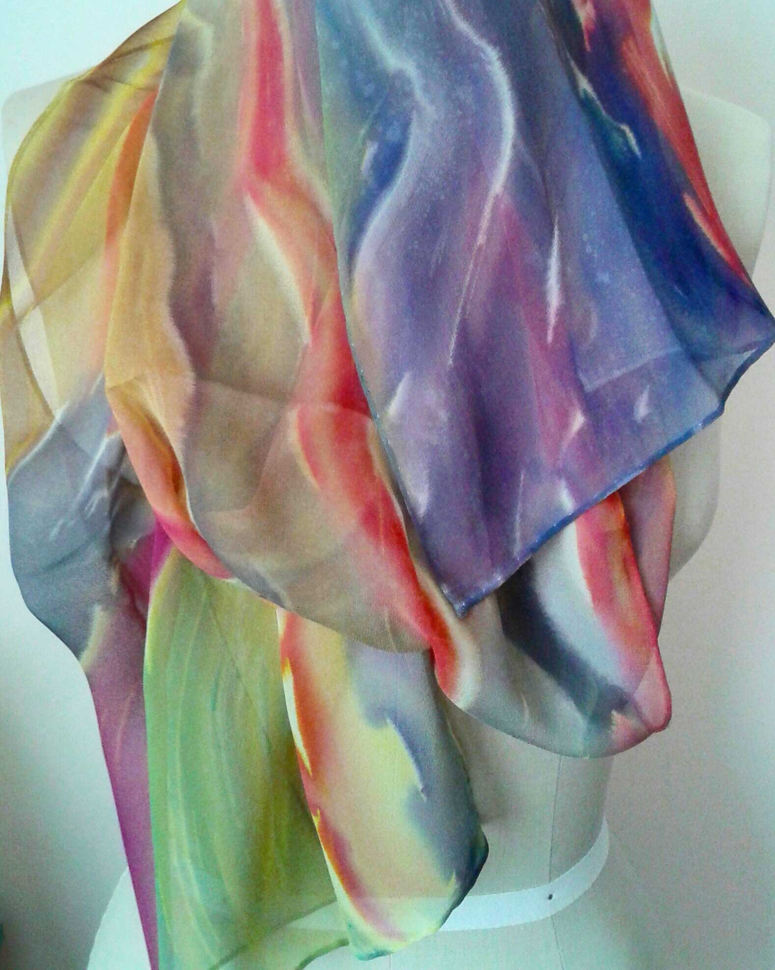Curved Stripes (draped)