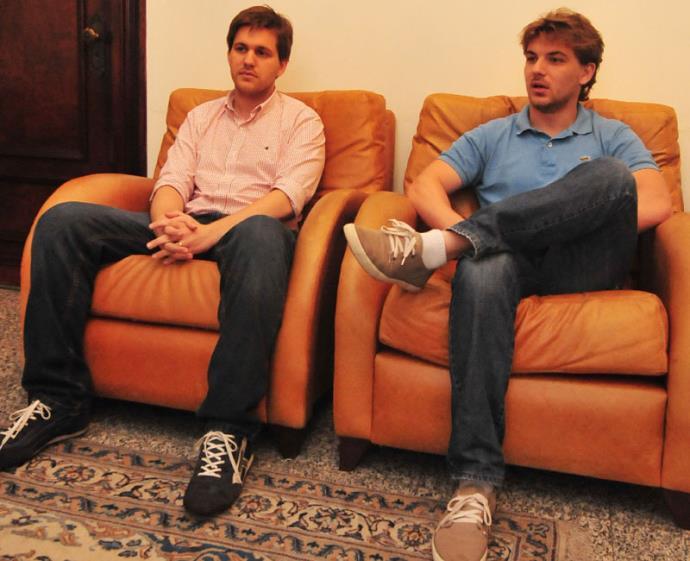 João Pedro e Gabriel Sffair abriram empresa BS Motion | Foto: André Ávila