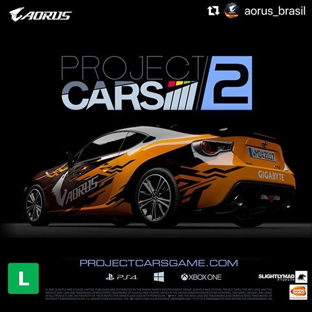 #Repost @aorus_brasil with @make_repost ・・・ Preparados para, uma das, experiências AORUS na #BGS2019? Jogar #ProjectCars2 #VR com uma #RTX #2080SUPER. Bora? ⠀ #gamingpc #gigabyte #aorus