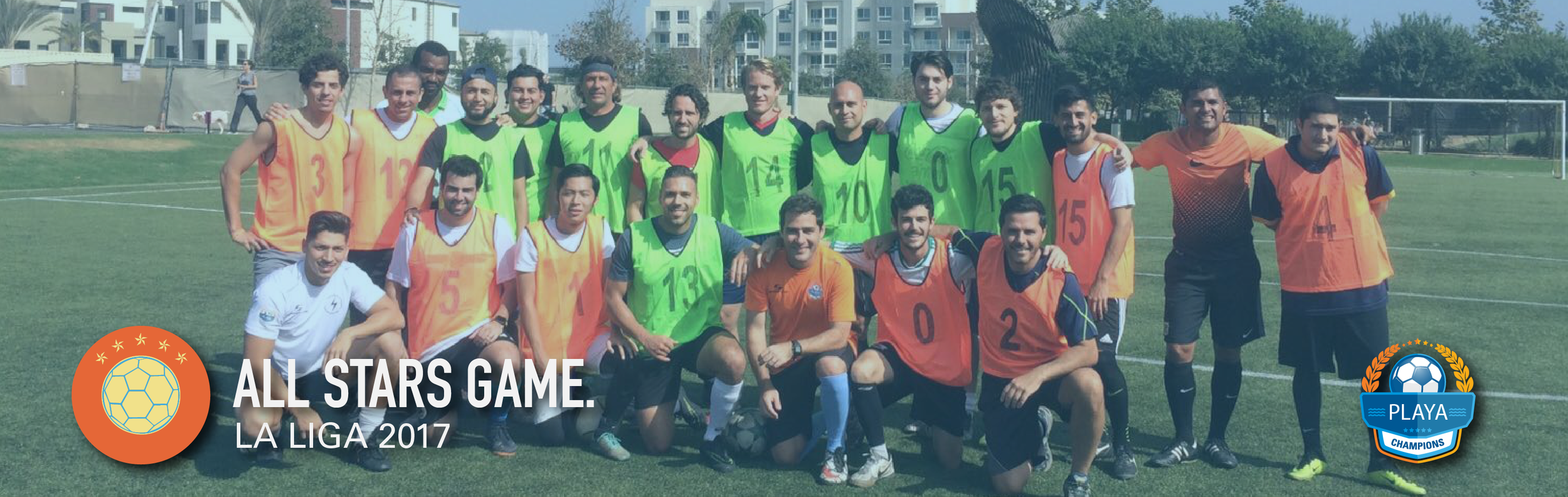 all stars game playa champions 2017 los angeles soccer league