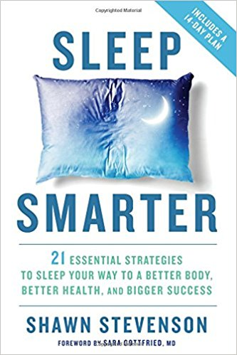 In  Sleep Smarter , Stevenson shares easy tips and tricks to discover the best sleep and best health of your life. With his 14-Day Sleep Makeover, you'll learn how to create the ideal sleep sanctuary, how to hack sunlight to regulate your circadian rhythms, which clinically proven sleep nutrients and supplements you need, and stress-reduction exercises and fitness tips to keep you mentally and physically sharp.