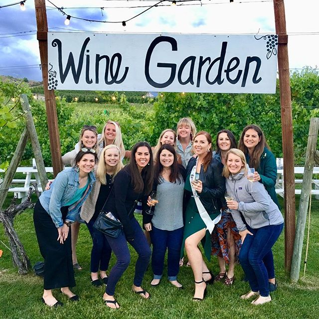 I couldn't have asked for a better bachelorette weekend with these amazing ladies! ☀️ 🍷 🥂T-minus 82 days until I tie the knot with @tonygorelick! 👰 🤵 💍