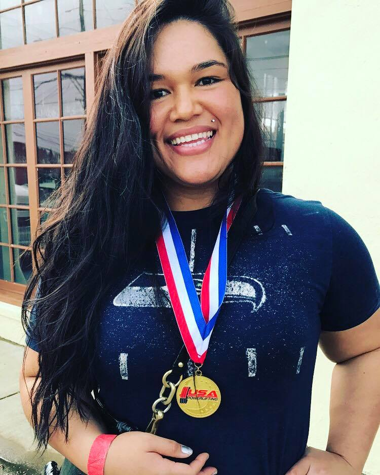 """Ashley S.   """"Jamon and I started working together five weeks before my second powerlifting meet in March 25, 2017. I was skeptical at first to hire a coach due to personal reasons, but after observing Jay's coaching techniques and interactions with fellow gym member's I decided to give Jamon the chance of hopefully helping me achieve my goals with upcoming powerlifting meets. In the short time that we worked together I learned more than I have in the past two years that I have been powerlifting. I was relieved to have a coach I can rely on when it came to programming and making sure I was training to my full potential. It's a good feeling when you can come into the gym and not have to worry about what I was doing or if I was even in the correct training phase of my program, all I have to do is show up and lift. After five weeks of training with Jamon, I was very pleased with the results I received within the short period of time. Not only did I feel a difference in my strength but my endurance as well. I look forward to what the future holds for the both of us as we work towards my personal goal of placing at either USPA Worlds in November or USAPL Nationals in October."""""""