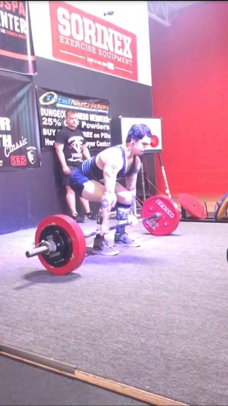 """Josh M.   """"I've only been on the platform ready team for a few months, but in these few months I've dramatically grown as a lifter. I'm killing weights I've never touched and warming up with old maxes. His knowledge has has done wonders."""""""