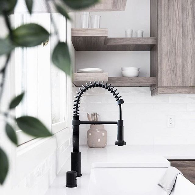 I'm loving this look!  Do you know what else I'm loving?  Homebuyers got another break. Mortgage rates just dropped again. #imreadytowalkwithyou . Photo source: @kitchens_of_insta