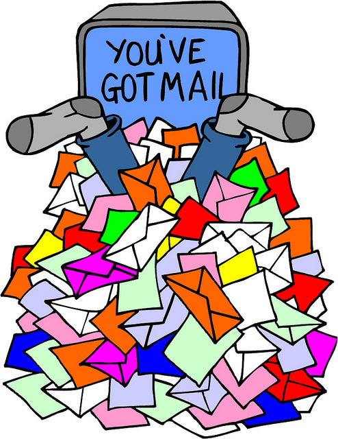 """Photo credit: """"You've Got Mail"""" by    card karma    is licensed under CC BY 2.0"""