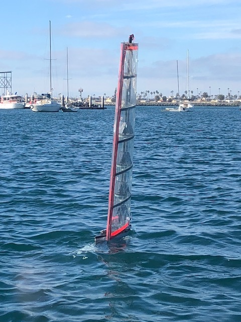 Gen4 sailing smartly in San Diego -