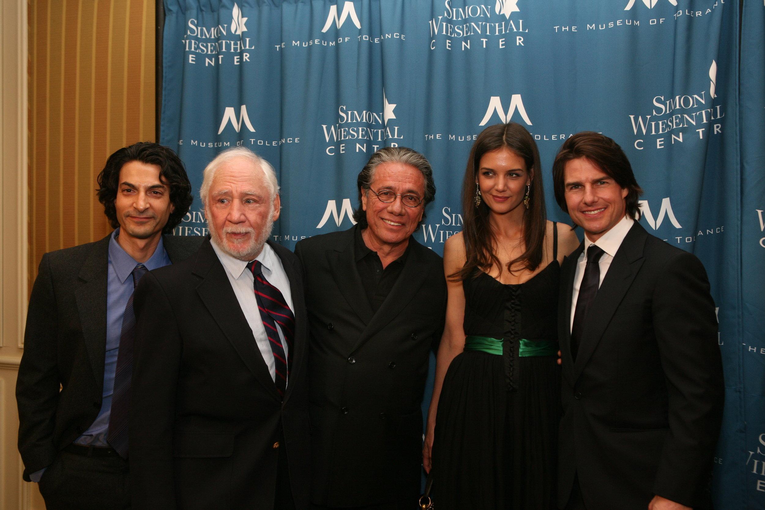 Simon Wiesenthal Center's Medal of Valor Awards.