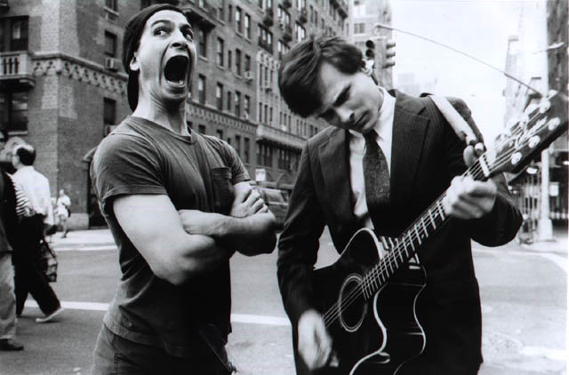 The Fenwicks: Steven Schub and Jimmie Corrieri. East Village, NYC. Photo by Bennett Miller.