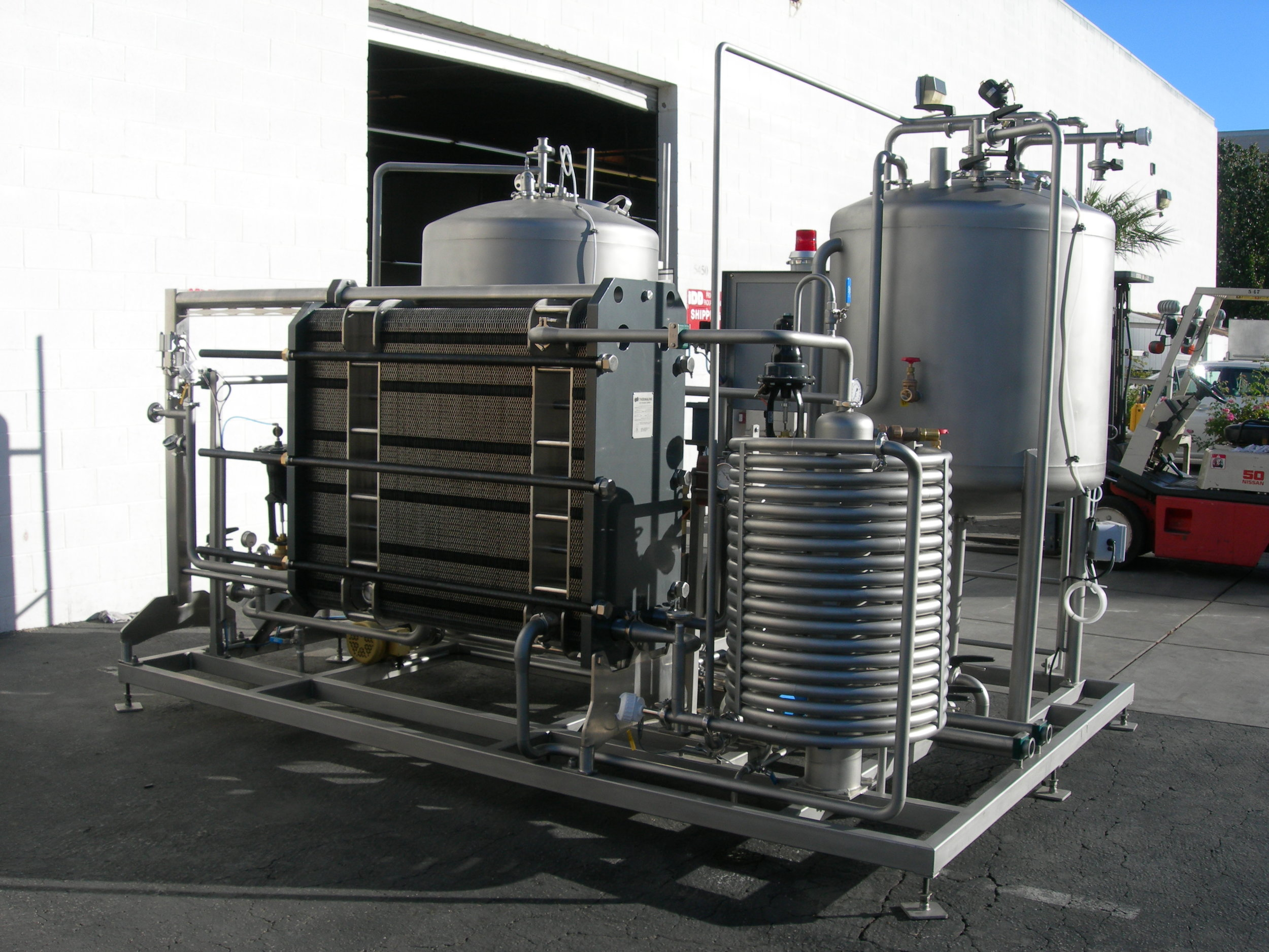 Flash Pasteurizers — IDD Process and Packaging