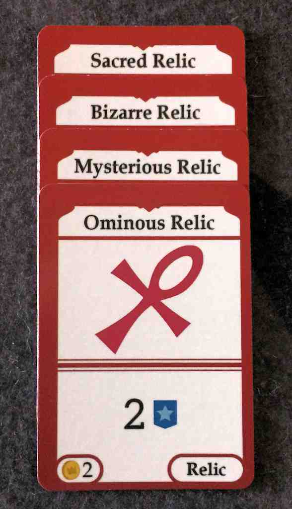 Relic cards set collection