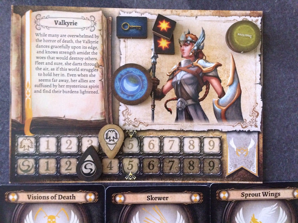 Valkyrie Character Mat