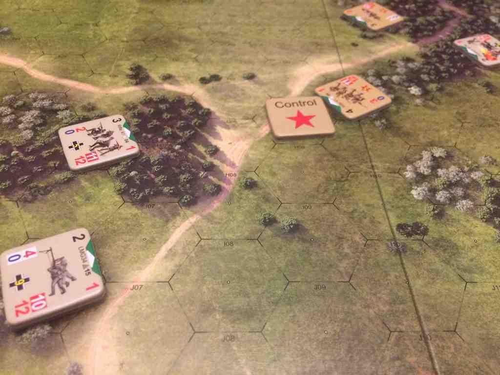 German LMG overwatching the Soviet control point