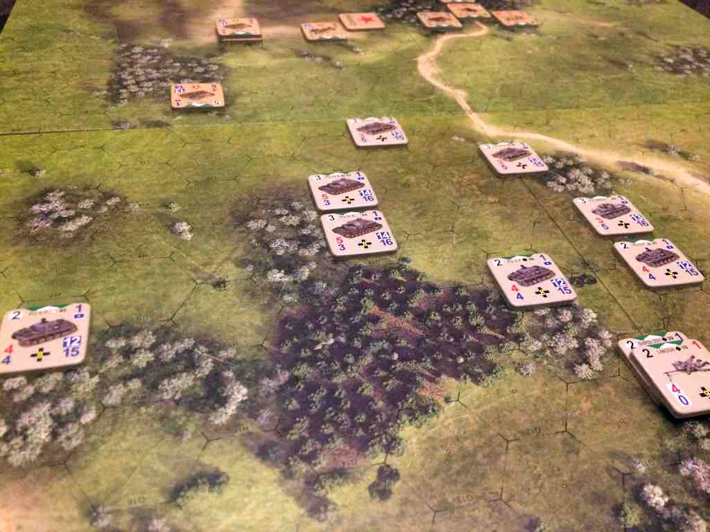 German Panzer's on the move!