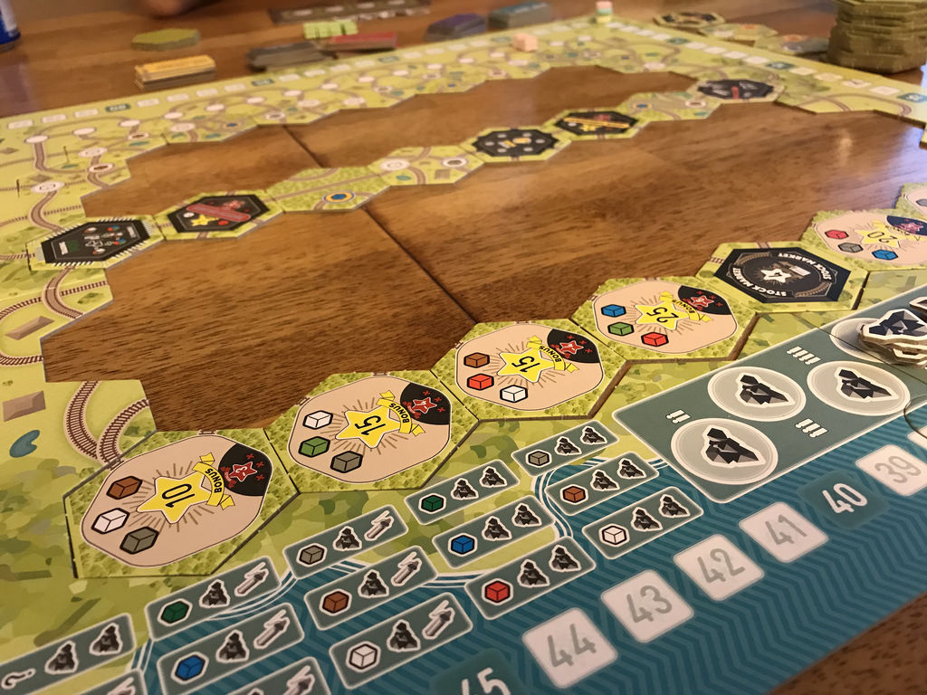 Whistle Stop from Bezier Games