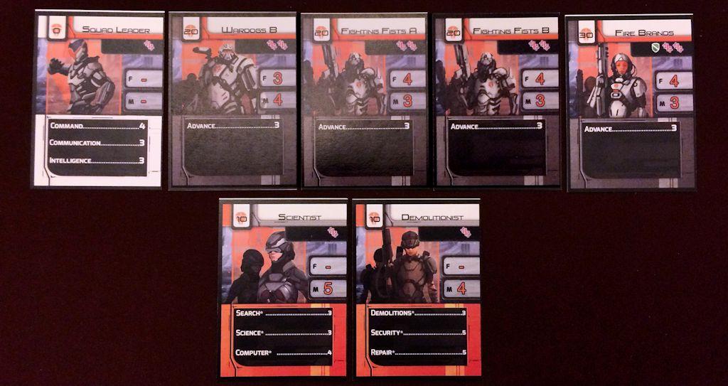 Squad Cards