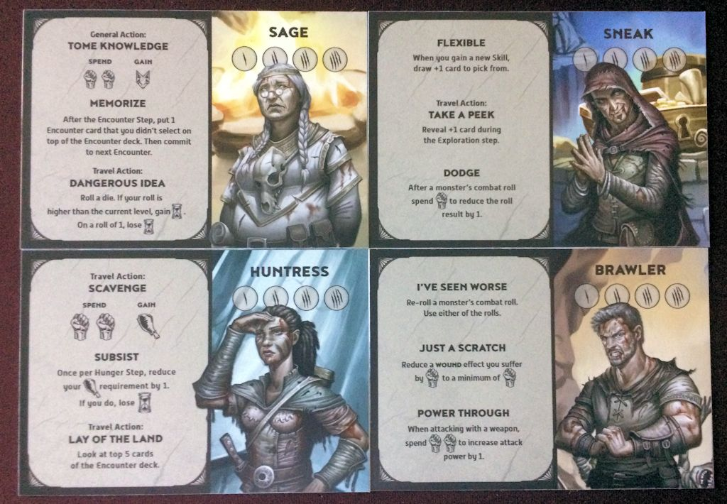 The heroes of Unbroken each provide unique ways of solving the dungeon