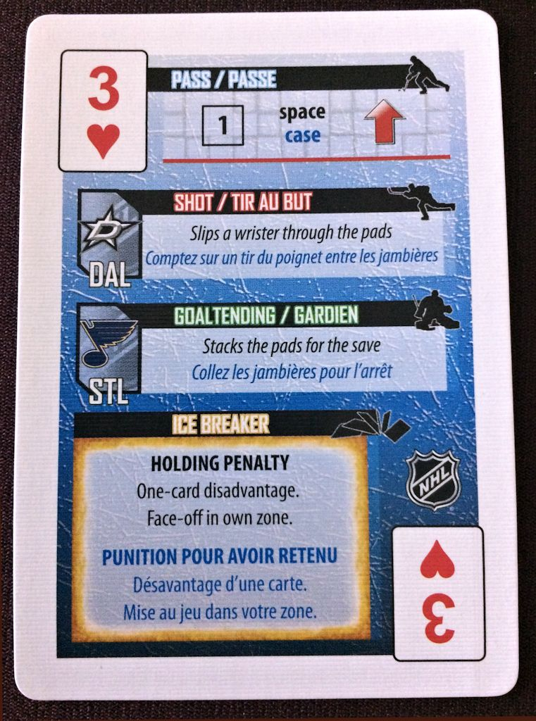 Anatomy of an Ice Breaker card