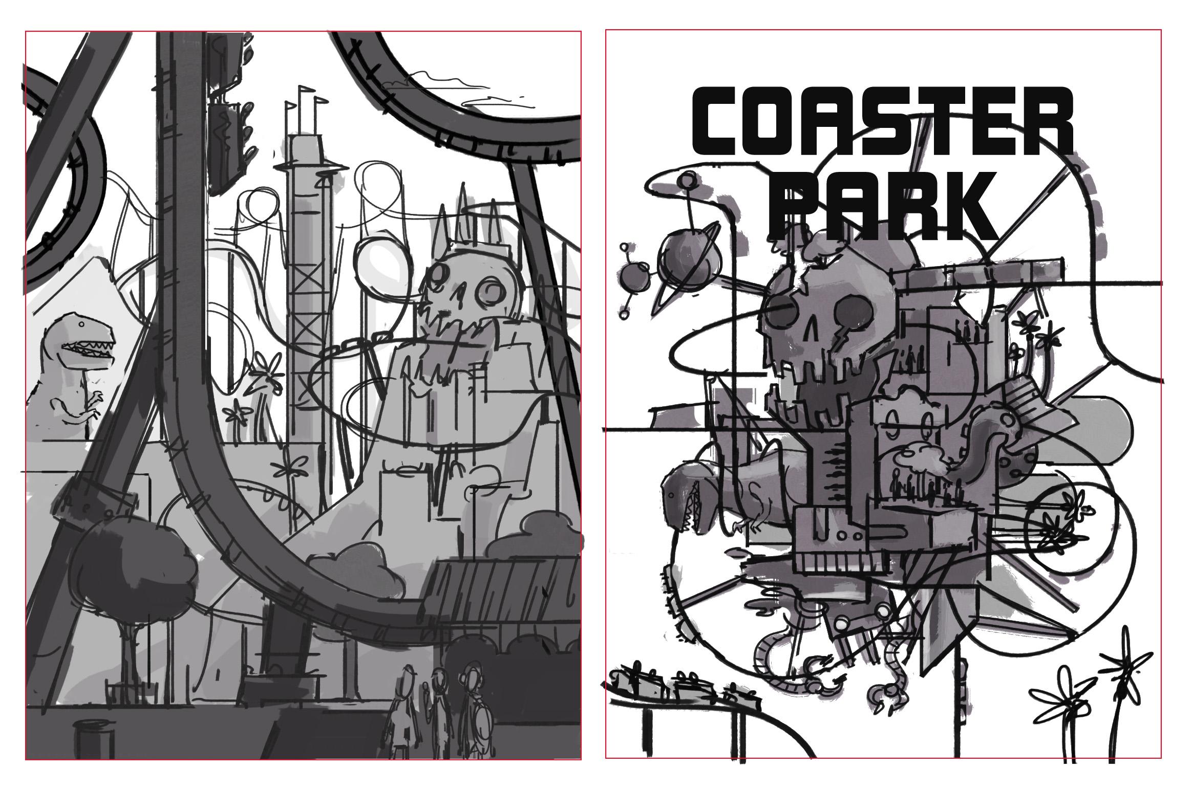 Concept art for Coaster Park
