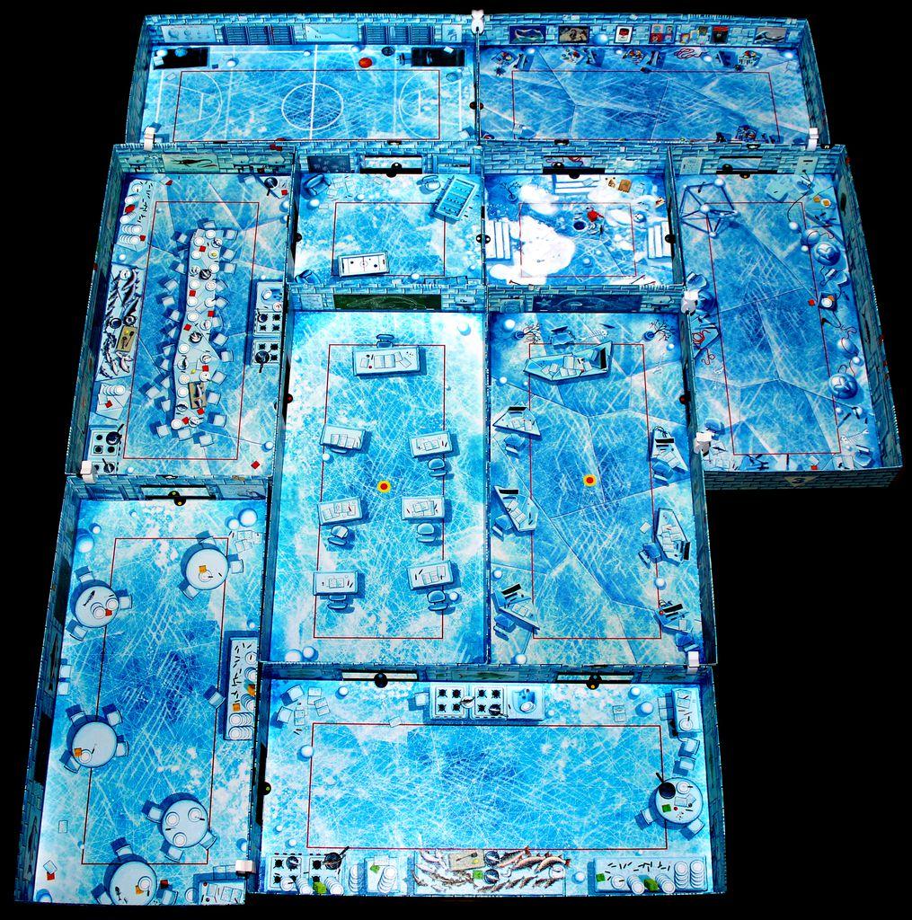 The Big Tuna University layout.