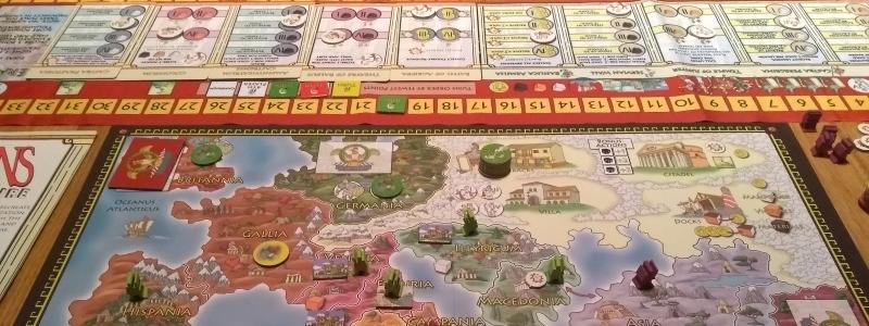 Romans in play my board.jpg