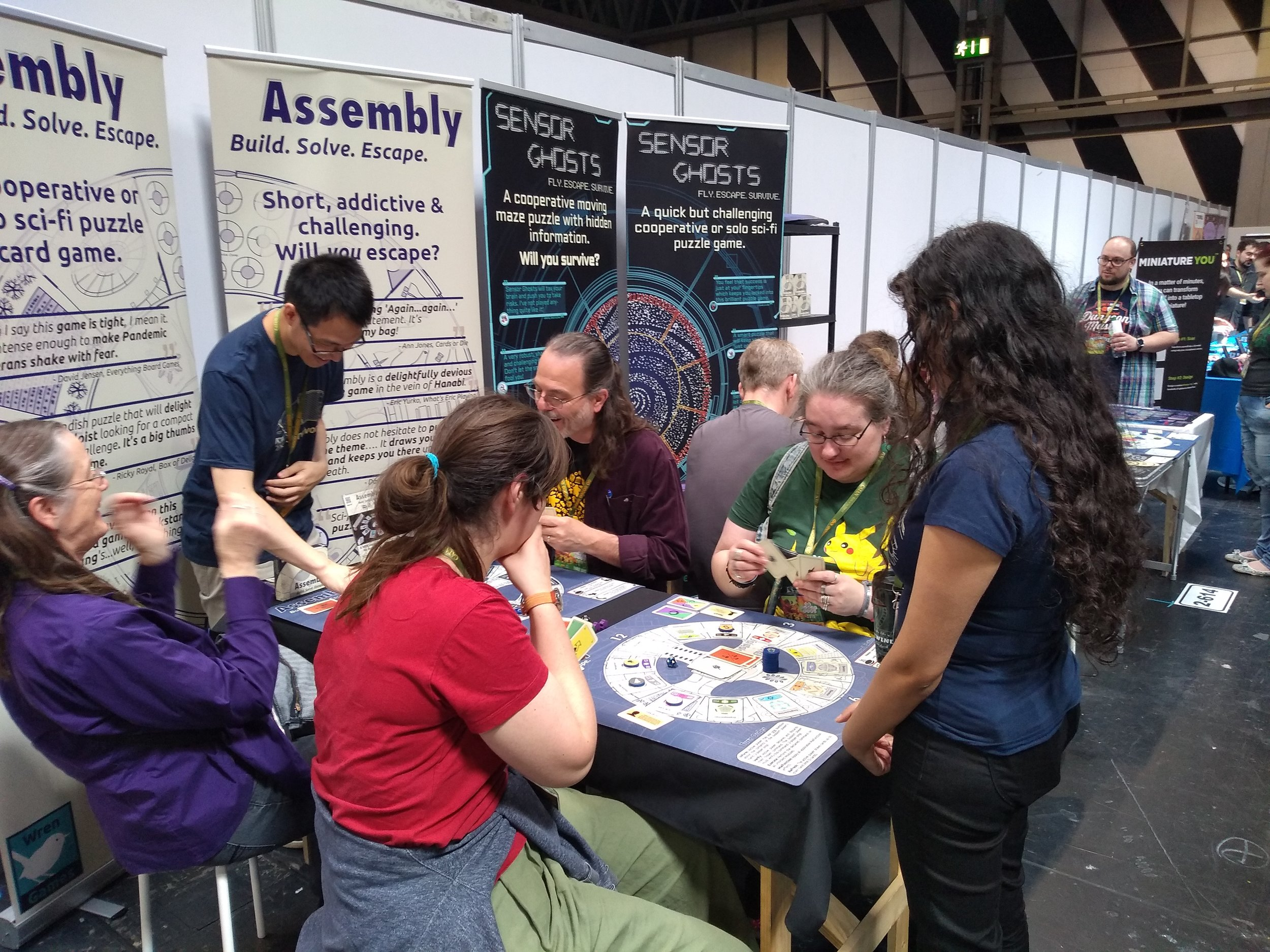 Assembly and Sensor Ghosts by Wren Games