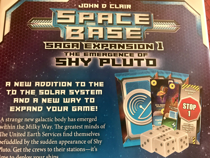 Board Game Gumbo: Spice it Up with Space Base - The Emergence of Shy