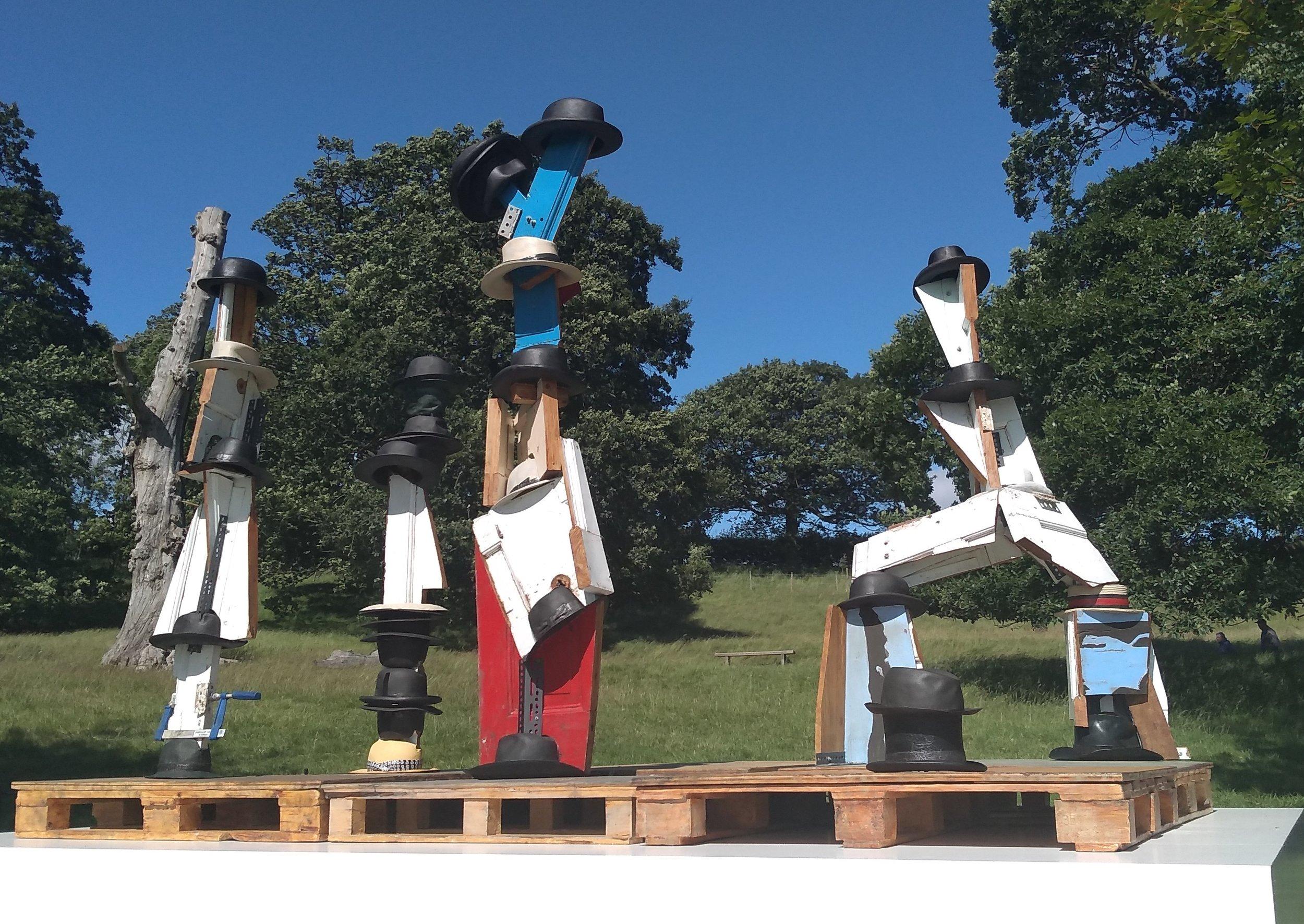 Damien Hirst - The Hat Makes The Man Yorkshire Sculpture Park