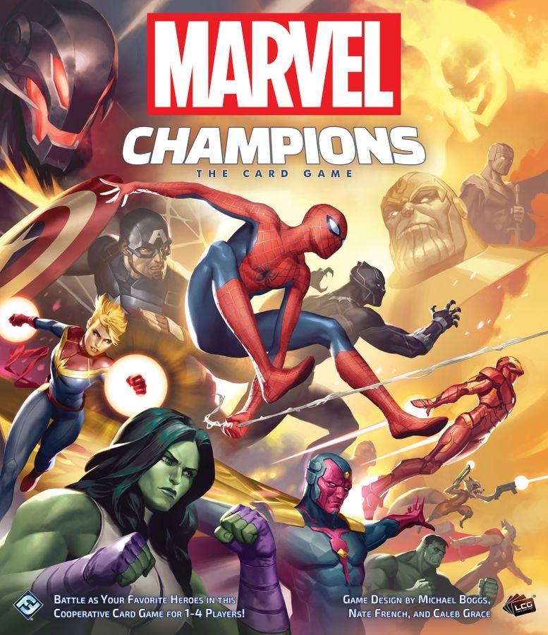 Marvel Champions will contain a full playset of cards in the core box.