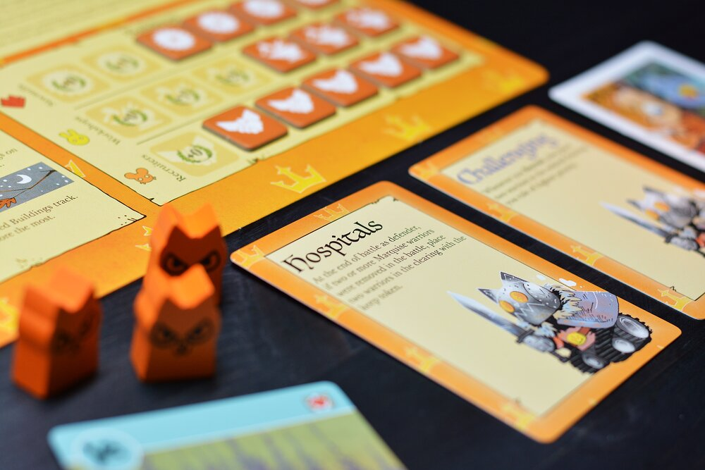 Each bot comes with a set of four trait cards which influence their style of play. Photo: Fredrik Schulz