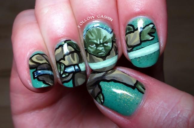 Yoda Nails by Follow Gashin
