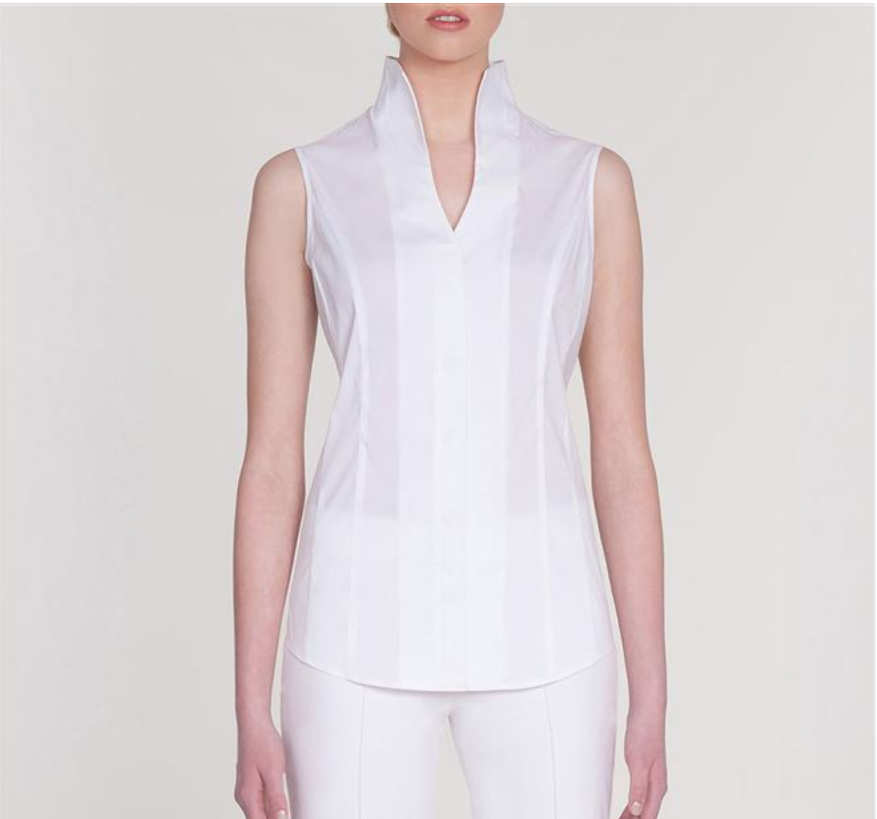 "<a href=""http://www.misook.com/item/k1900f/201302/stretch-cotton-sleeveless-blouse?utm_source=gcfam&utm_medium=TK&utm_campaign=MSK7591"" rel=""nofollow""> Stretch Cotton Sleeveless Blouse</a>"
