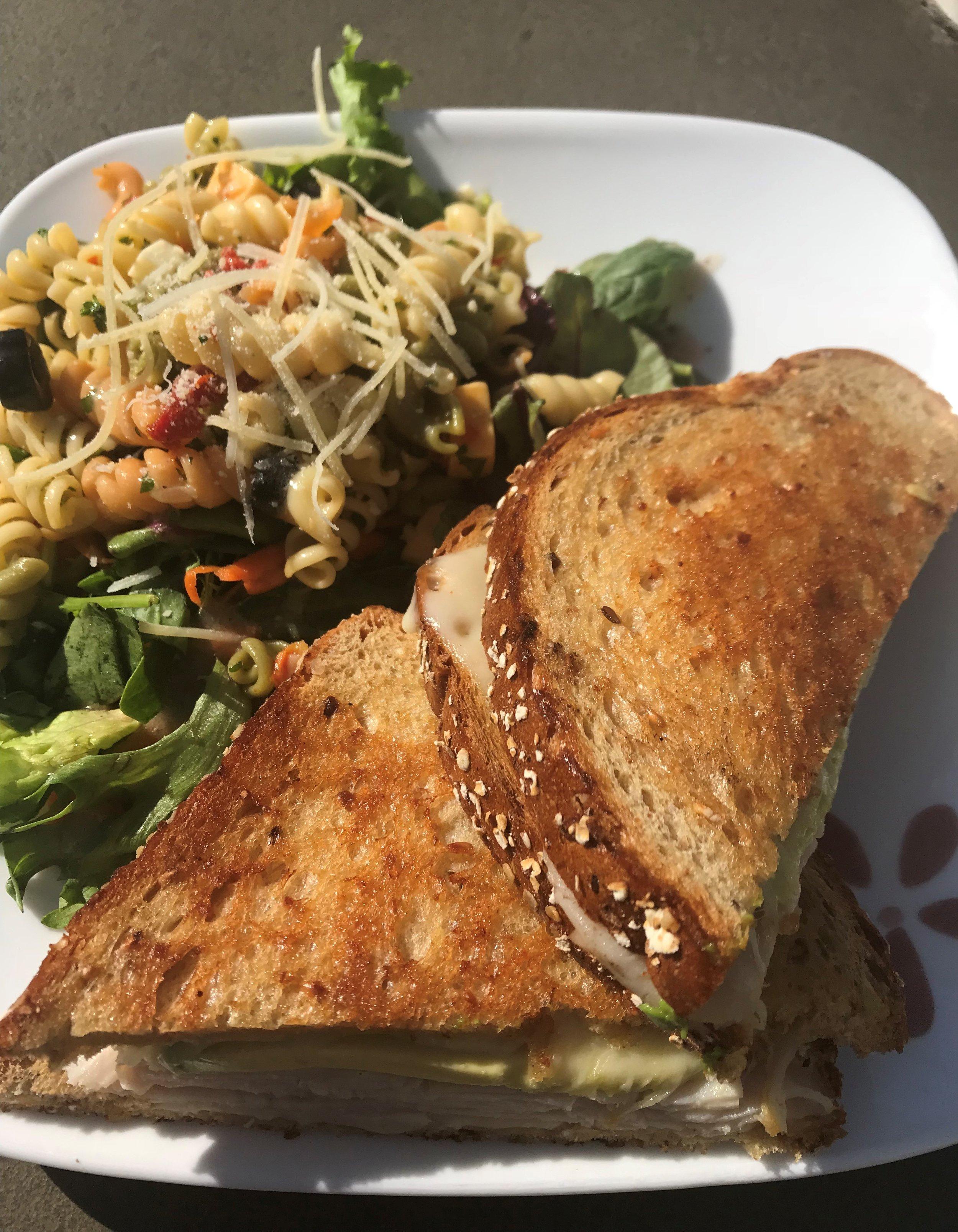 turkey melt with avo and pasta salad T6.jpg