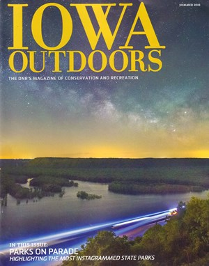 Iowa Outdoors Magazine Subscription- $15