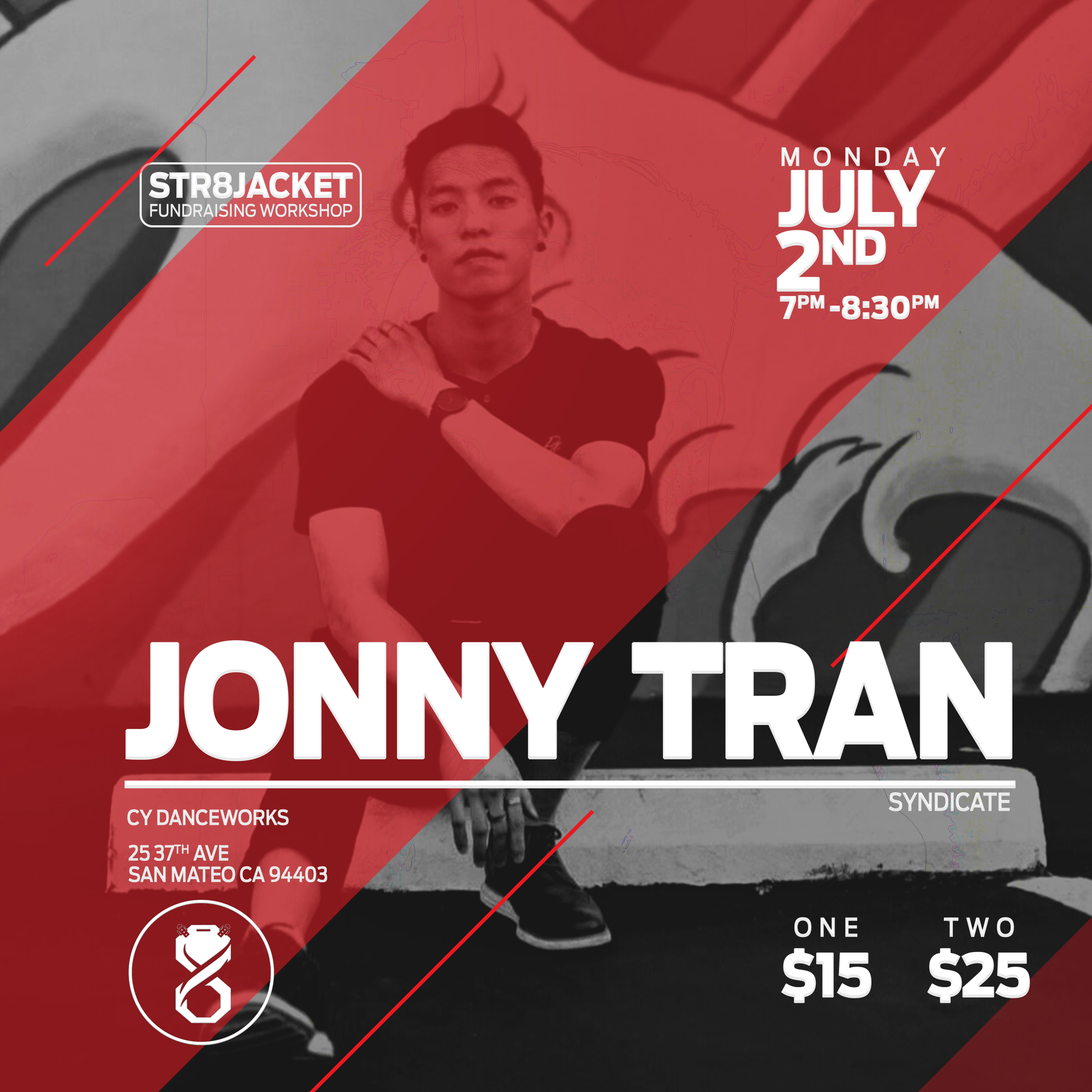 Jonny Tran Workshop | Str8jacket Dance Company