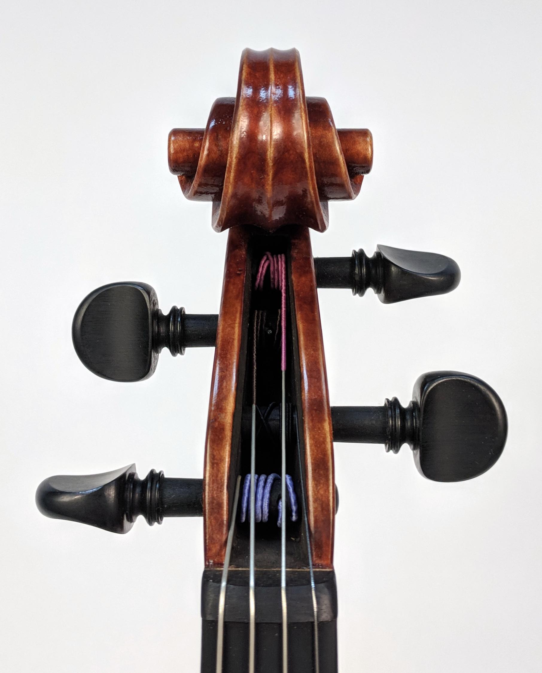 A. Corbishley, Oklahoma City OK 2016 Viola, Gofriller Model.