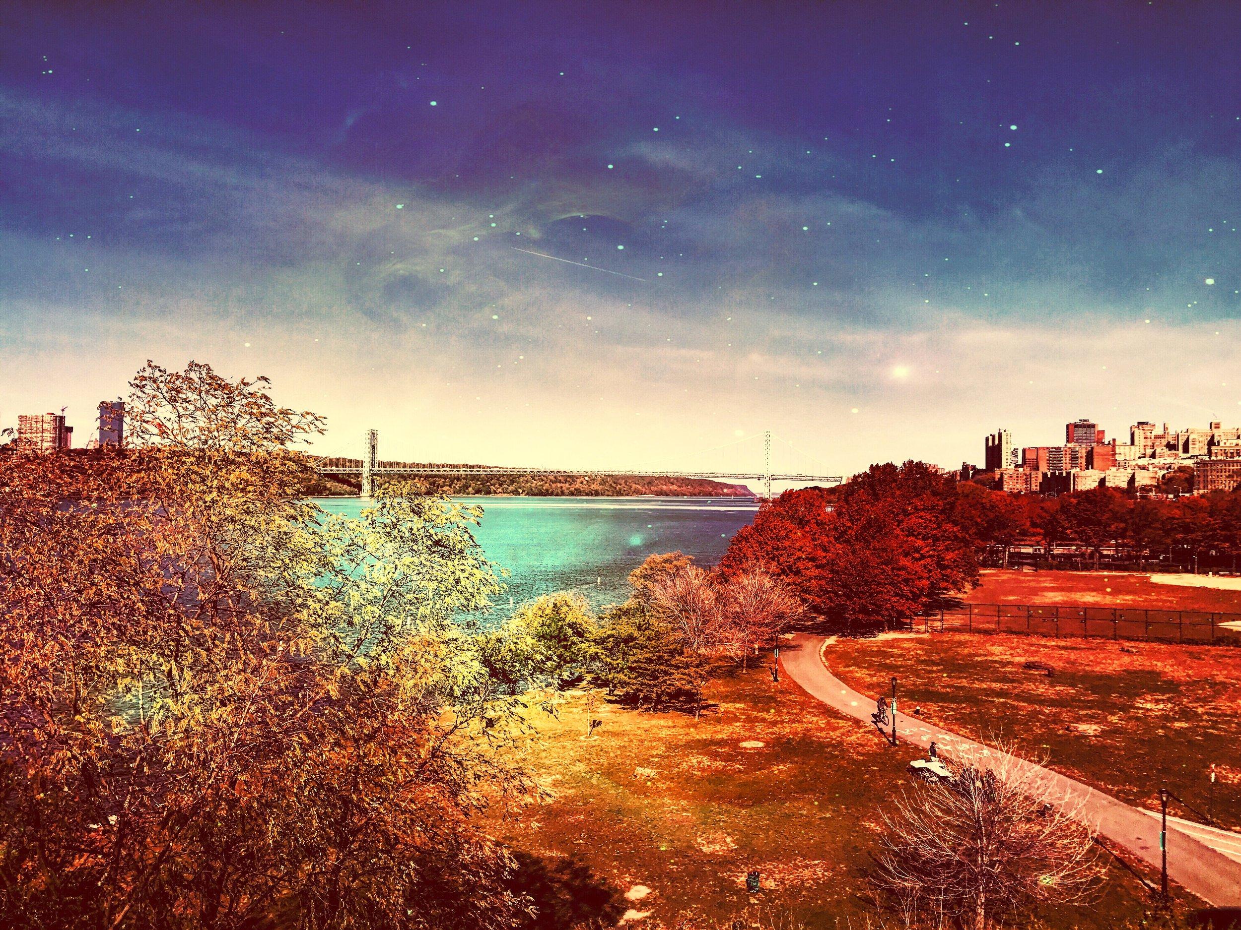 George Washington Bridge _ Alana Casner _ @bunnyfromtheblock