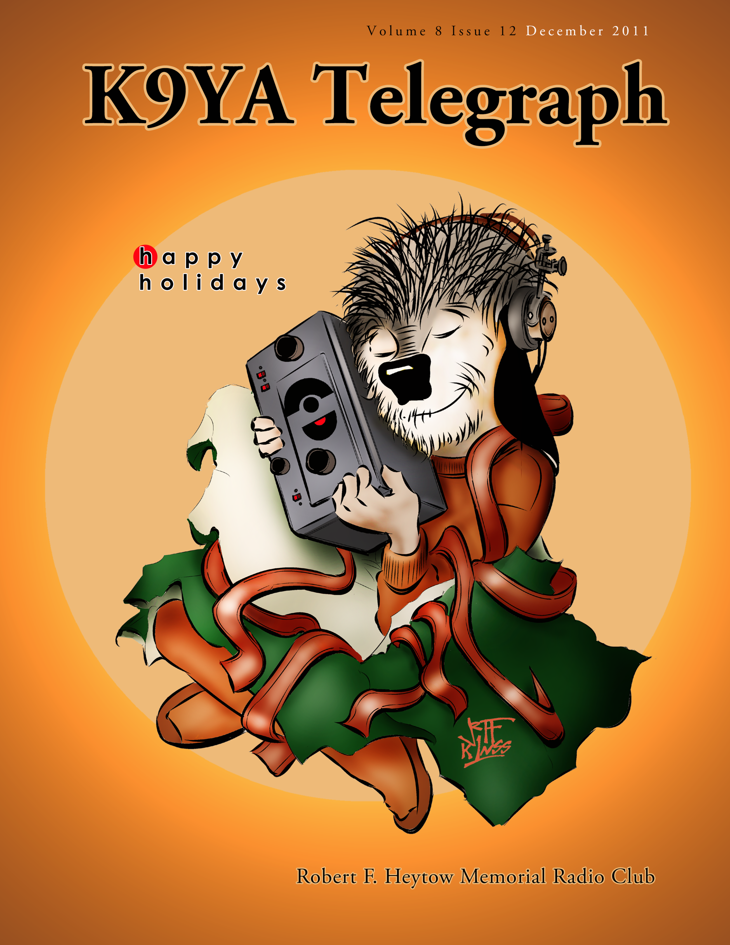 Copy of Holiday Cover 2011 ©2017 K9YA Telegraph