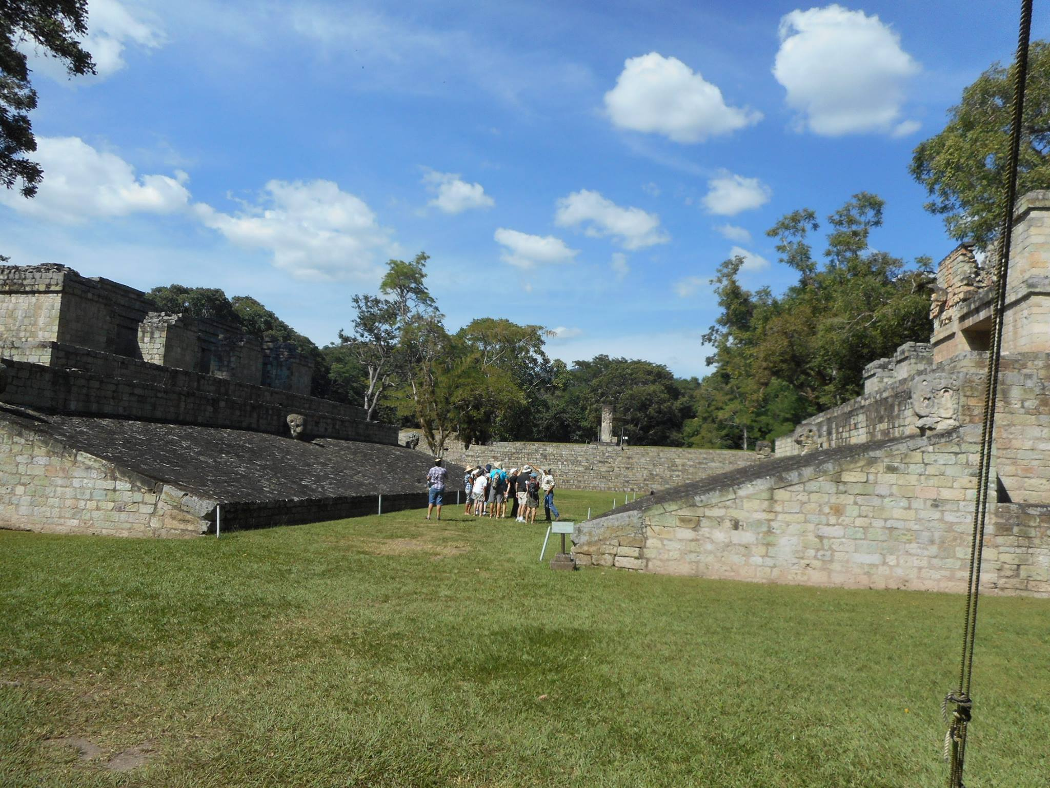 ©AJ9C  Copan Ruins of Mayan pre-radiosporting events. Whoever winds up with the most points doesn't get his head chopped off.