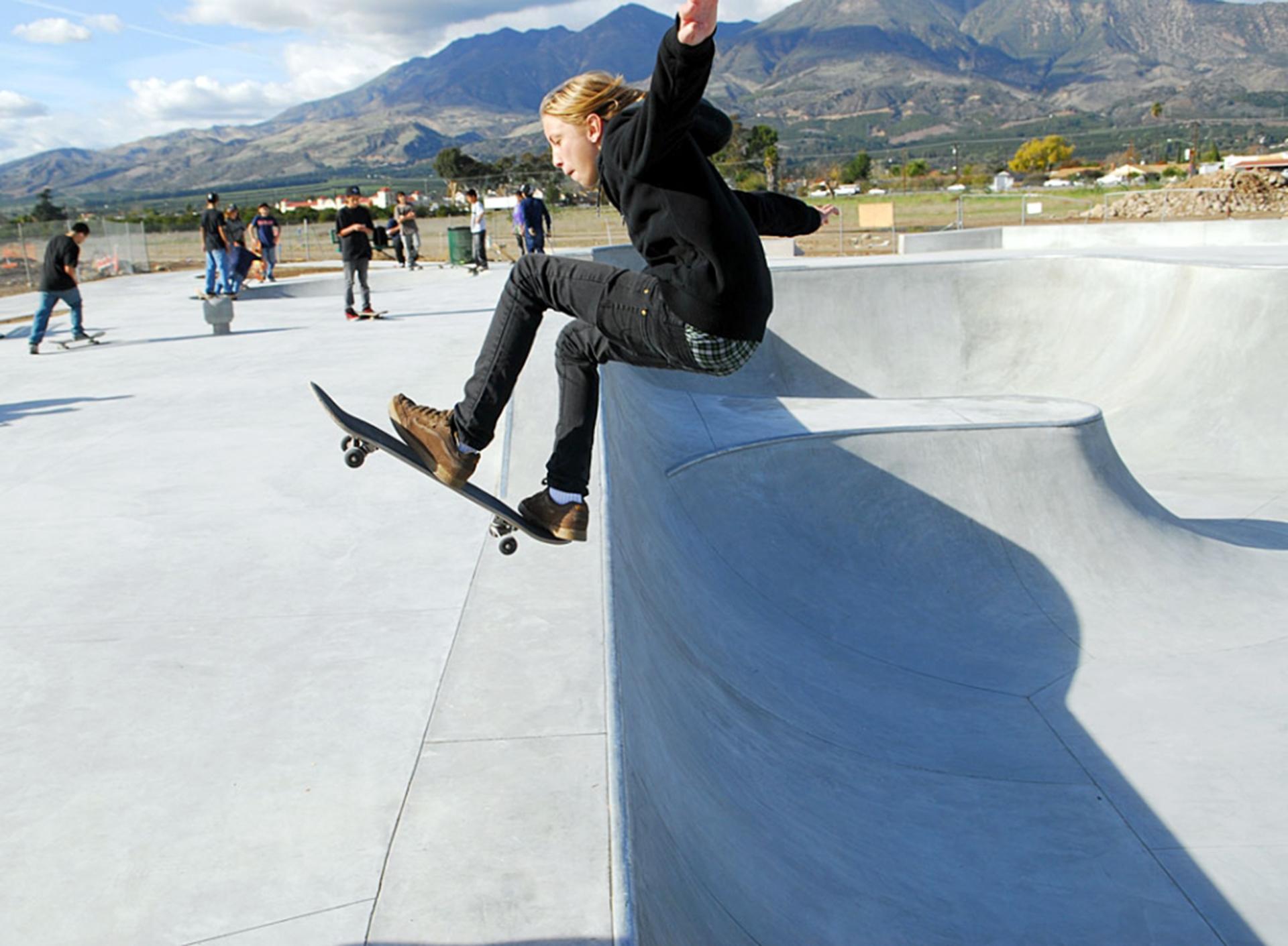 Fillmore is  Skateboarding  Two Rivers Skate Park  Skate Park Info
