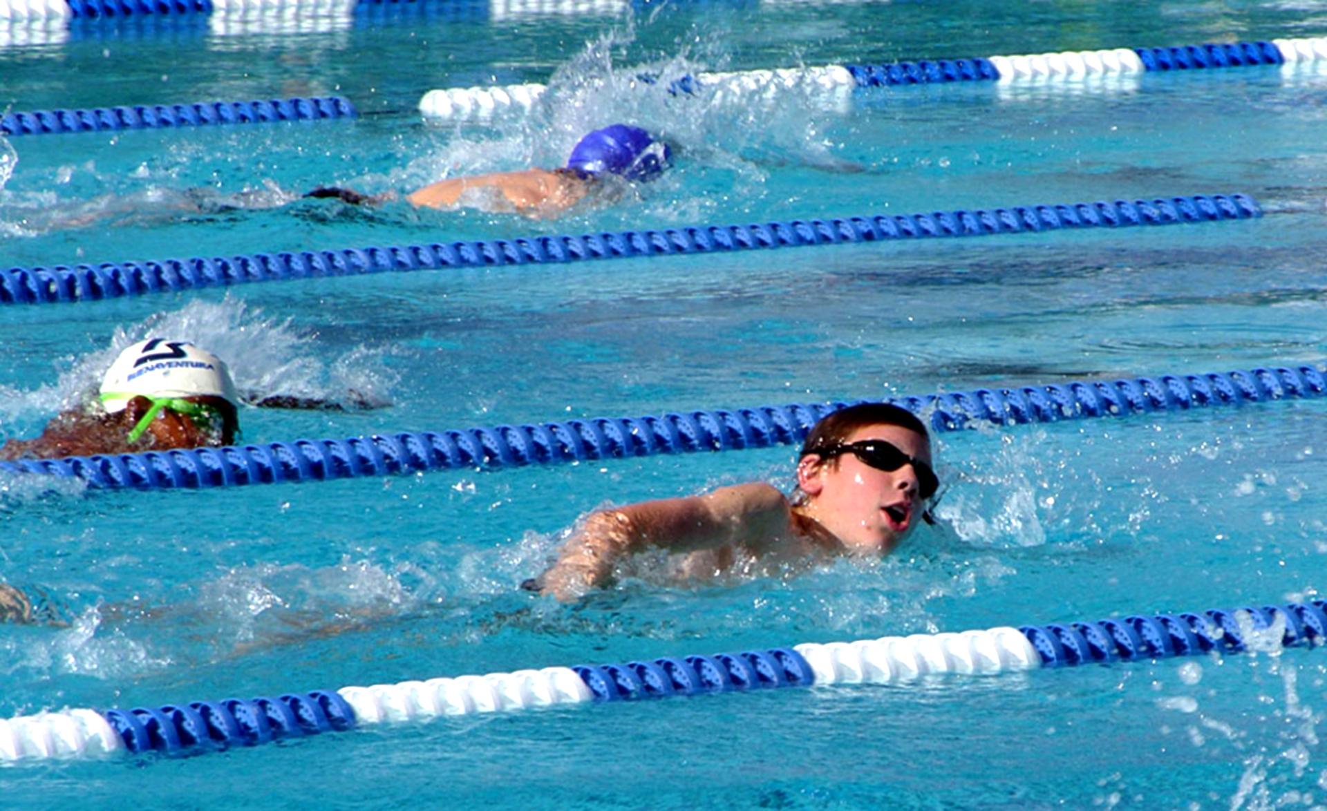 Fillmore is  Swimming  Fillmore Aquatics Center  Go Swim