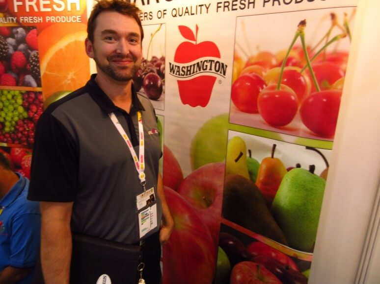 Brent Steensma of Honey Bear Tree Fruit Company has growers across the US