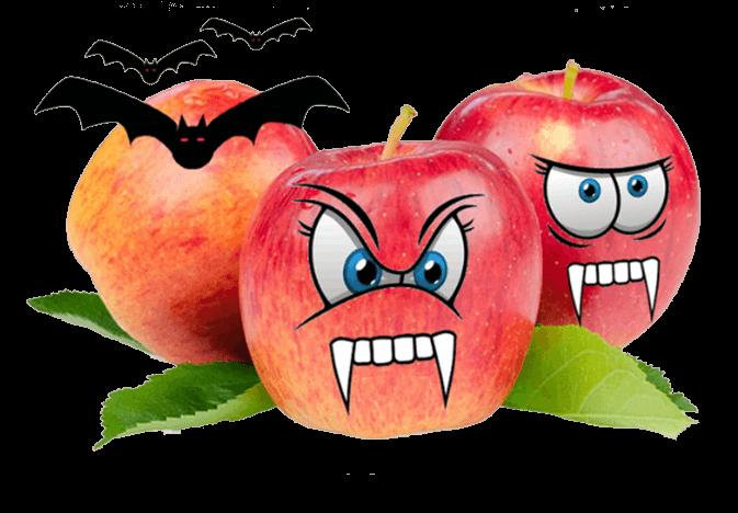 Sage Fruit has a Halloween-themed Smitten apple contest. ( Courtesy Sage Fruit )