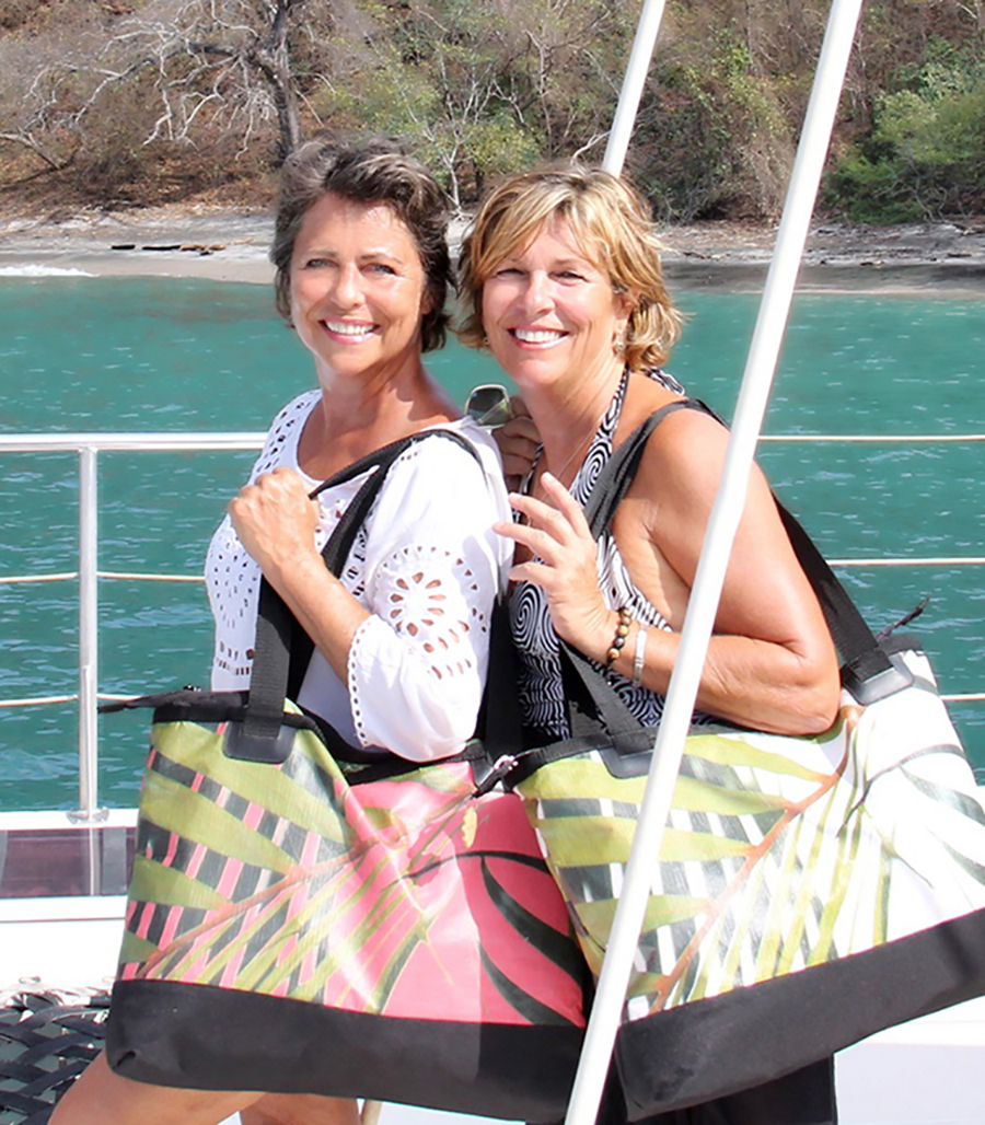 Gitingas Co-Founders  Rhonda & Lisa  have a true passion for travel
