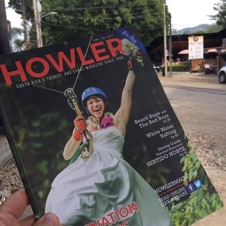 Howler Magazine June/July 2017 Edition featuring a editorial on Gitingas Handbags