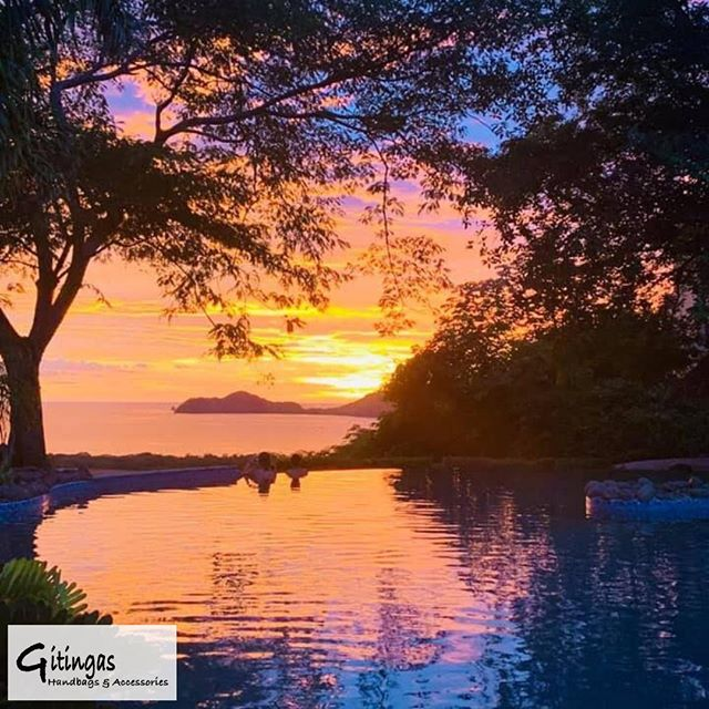 Costa Rican sunsets are hard to beat. The beauty in this place is difficult to put into words. It's what inspired our entire company. It's what continues to inspire new designs for our customers. Breathtaking, isn't it? ❤️ - When you purchase a bag from Gitingas, you get to take a piece of Costa Rica wherever you go. Throughout this month, get 10% off all of our beautiful bags by visiting the link in our bio 👆 and entering code: DORIAN 🛍️. Enjoy, amigos! - - - #gitingas #handbags #costarica #puravida #sunset #beachbags #beachlife #inspired #costaricalife #naturalbeauty #natural #breathtaking #nature #getoutside #resortliving #resortlife #lovewhereyoulive #travel #vacation #wander #wanderer #wanderlust #dowhatyoulove #lovewhatyoudo #