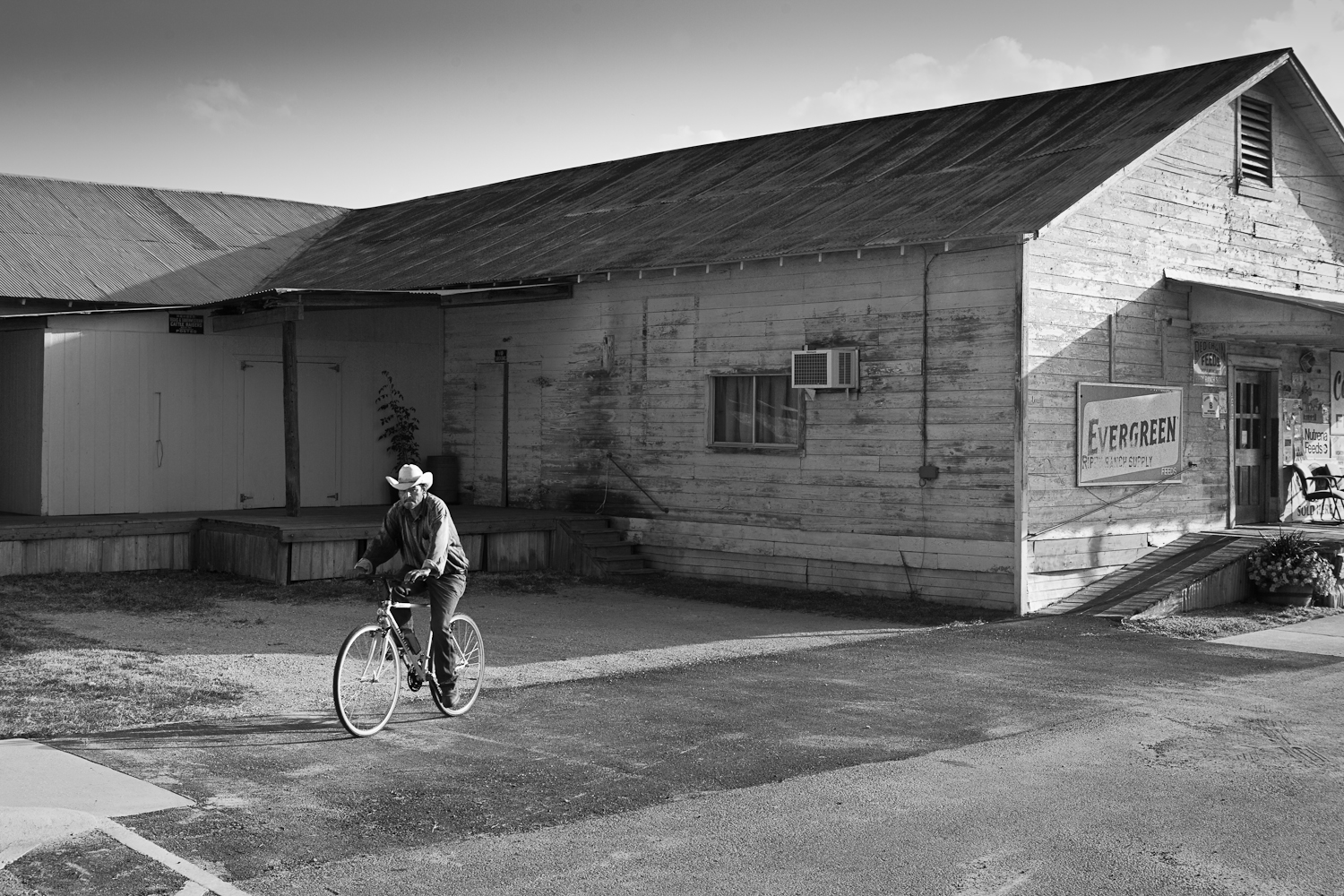 """""""Small Town Sunday"""" Included in juried show by Dan Burkholder at the A Smith Gallery in Johnson City"""
