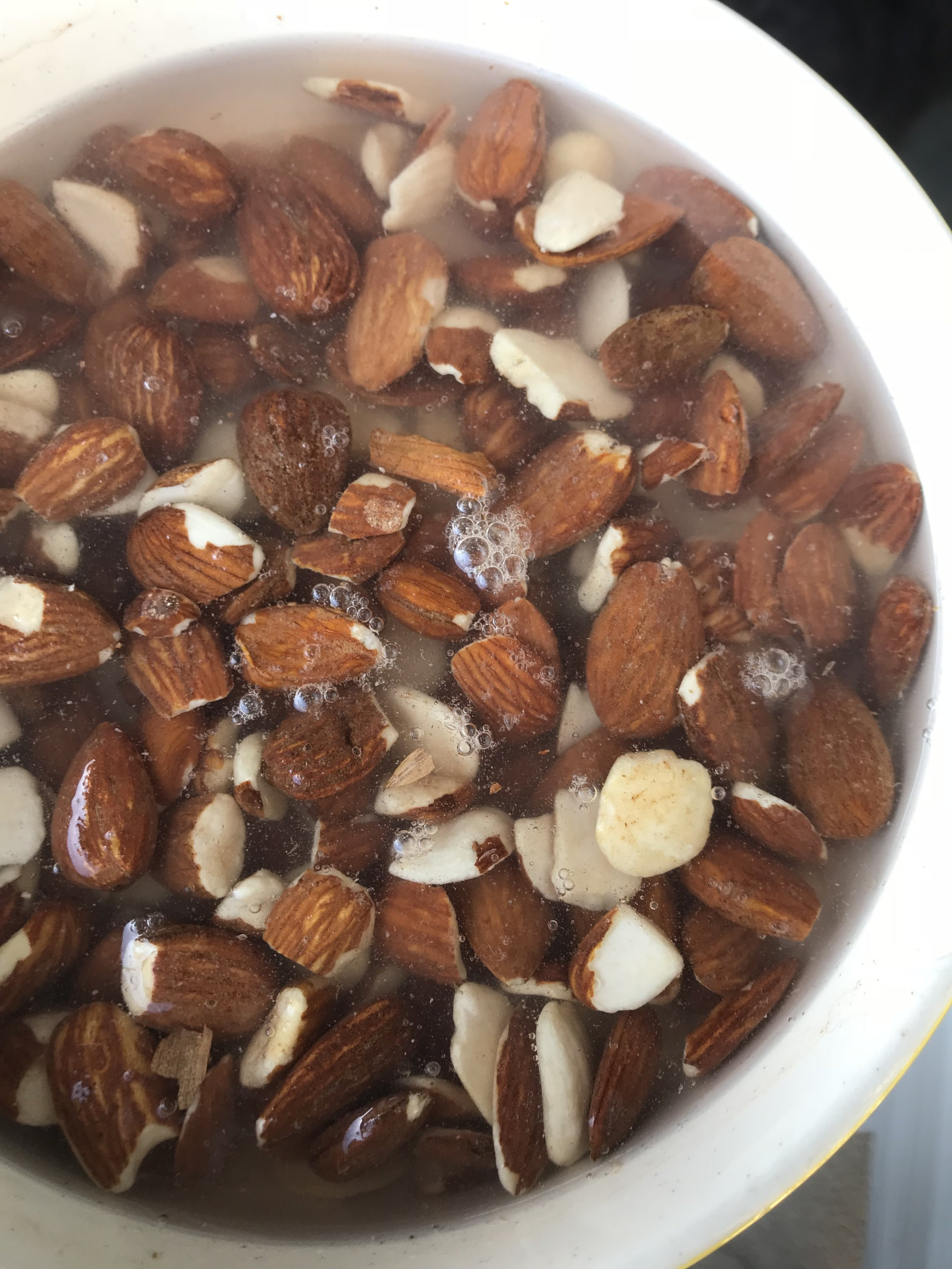Make sure your nuts have pre-soaked