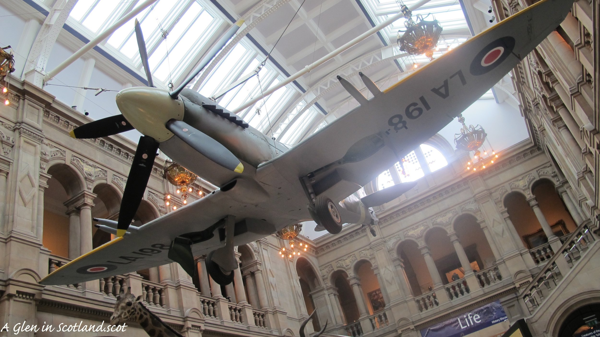 Spitfire at the Kelvingrove