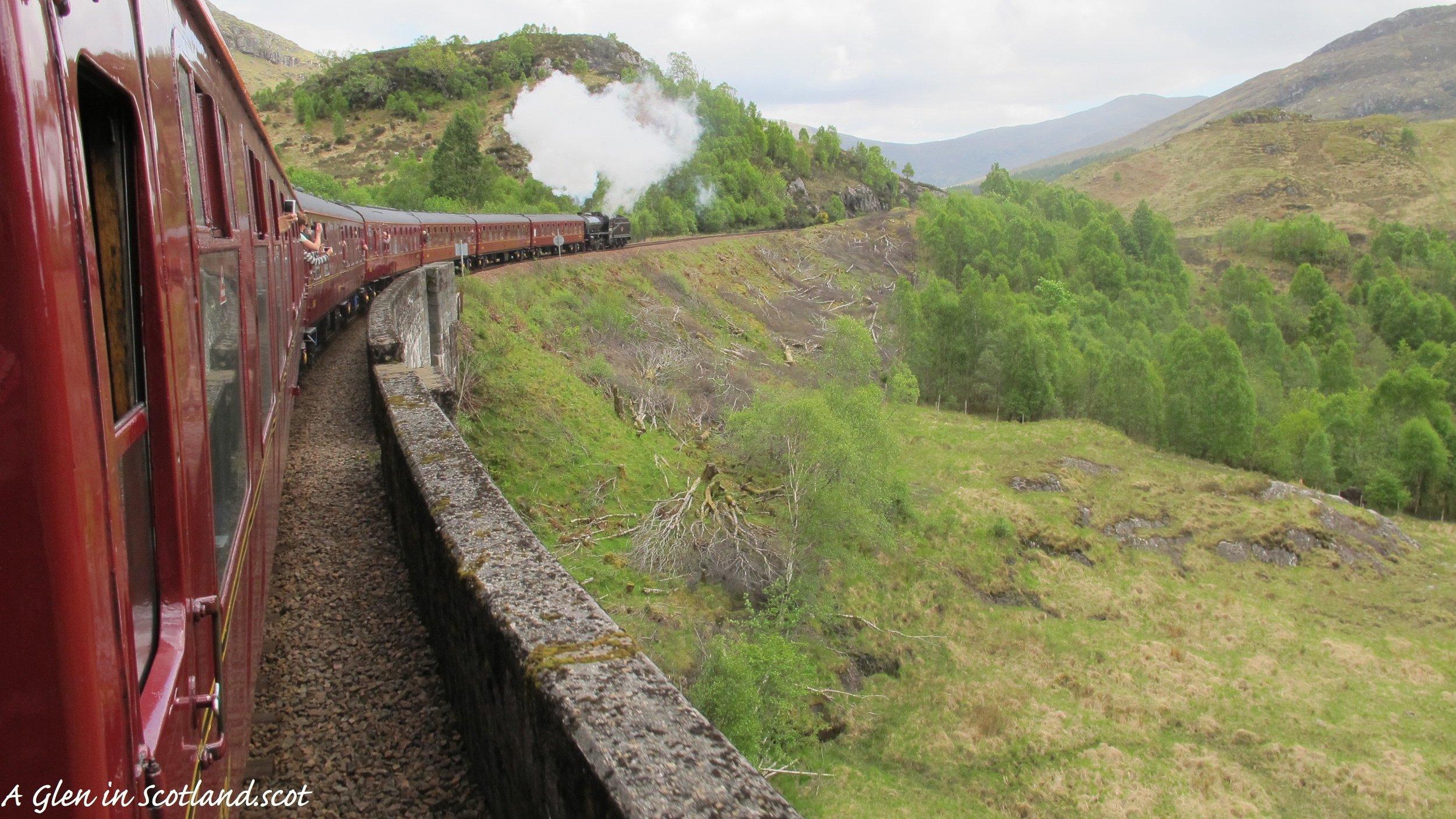 Hogwart's Express, Glenfinnan